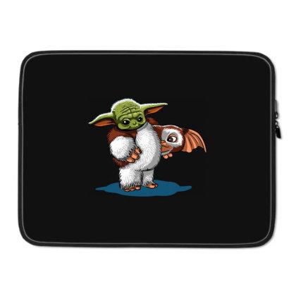 Baby Yoda In Disguise Laptop Sleeve Designed By Koopshawneen
