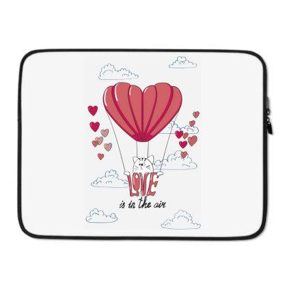 Love Is In The Air Laptop Sleeve Designed By Coşkun