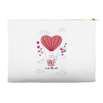 Love Is In The Air Accessory Pouches Designed By Coşkun
