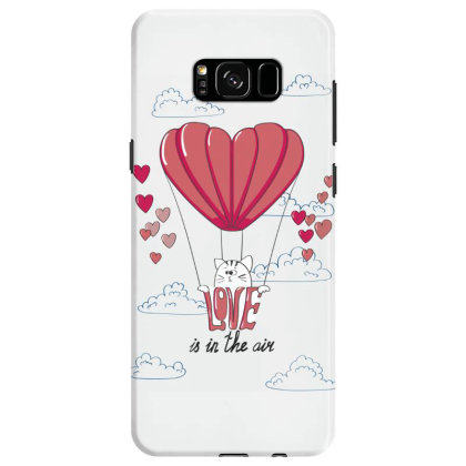 Love Is In The Air Samsung Galaxy S8 Case Designed By Coşkun