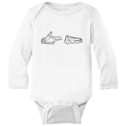 Run The Jewels 4 Wireframe Classic T Shirt Long Sleeve Baby Bodysuit Designed By Moon99