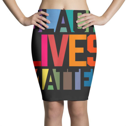 Black Lives Matter Pencil Skirts Designed By Koopshawneen