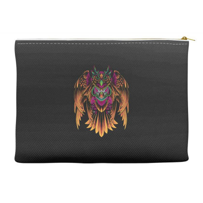 Cyborg Owl Accessory Pouches Designed By Koopshawneen