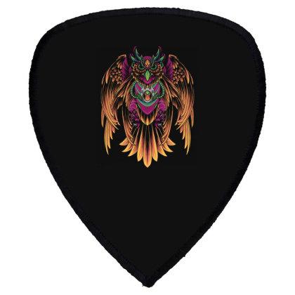 Cyborg Owl Shield S Patch Designed By Koopshawneen