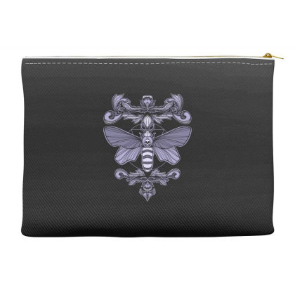 Death Moth Accessory Pouches Designed By Koopshawneen