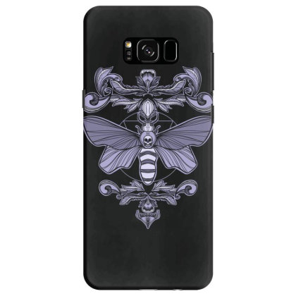 Death Moth Samsung Galaxy S8 Case Designed By Koopshawneen
