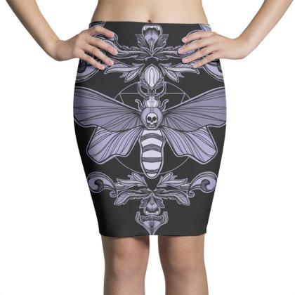 Death Moth Pencil Skirts Designed By Koopshawneen