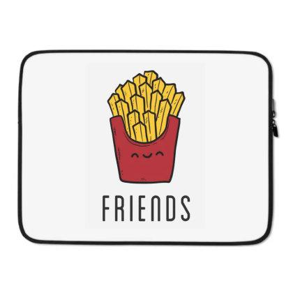 Fried Potatoes Fast Food Laptop Sleeve Designed By Coşkun