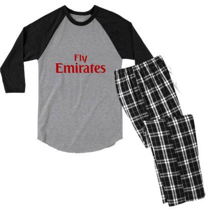 Sakdadimuleh T Shirt Men's 3/4 Sleeve Pajama Set Designed By Moon99