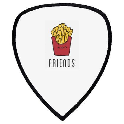 Fried Potatoes Fast Food Shield S Patch Designed By Coşkun
