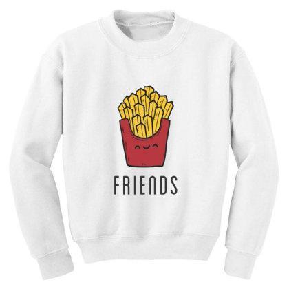 Fried Potatoes Fast Food Youth Sweatshirt Designed By Coşkun