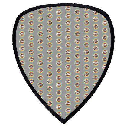 Retro Cool Shield S Patch Designed By Akin