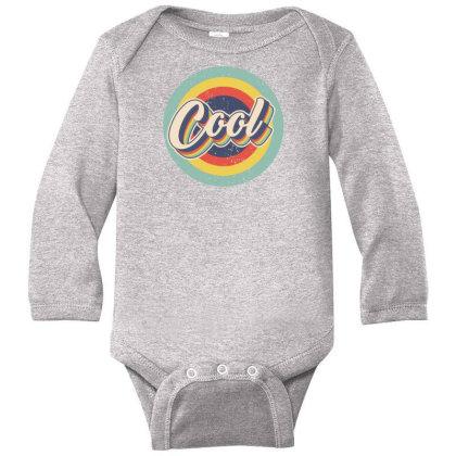 Retro Cool Long Sleeve Baby Bodysuit Designed By Akin