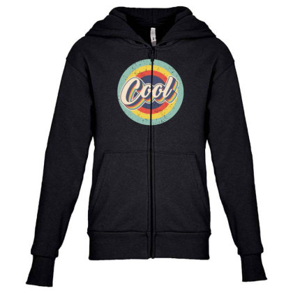 Retro Cool Youth Zipper Hoodie Designed By Akin