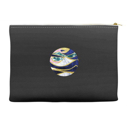 Golden Wave Accessory Pouches Designed By Akin