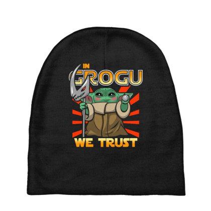 Grogu Trust The Kid Baby Beanies Designed By Koopshawneen