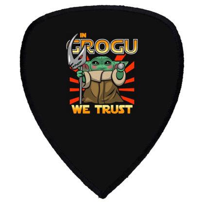 Grogu Trust The Kid Shield S Patch Designed By Koopshawneen
