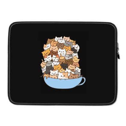 Cute Cats Laptop Sleeve Designed By Coşkun