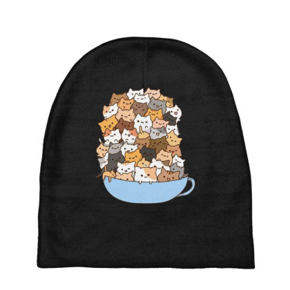 Cute Cats Baby Beanies Designed By Coşkun