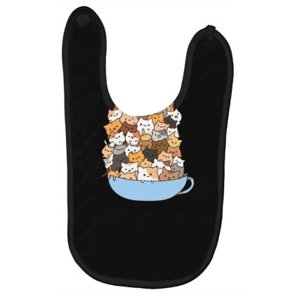 Cute Cats Baby Bibs Designed By Coşkun
