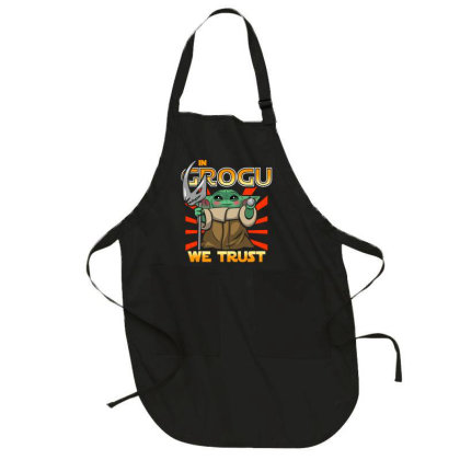 Grogu Trust The Kid Full-length Apron Designed By Koopshawneen