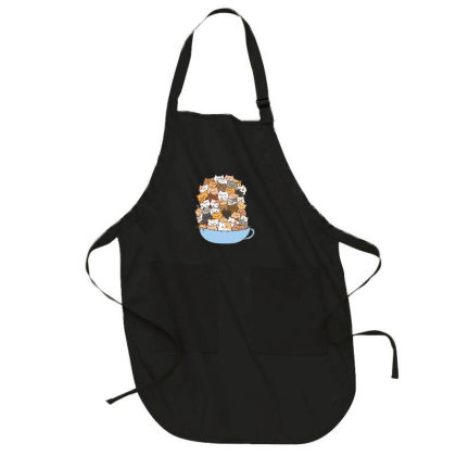 Cute Cats Full-length Apron Designed By Coşkun