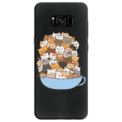Cute Cats Samsung Galaxy S8 Case Designed By Coşkun