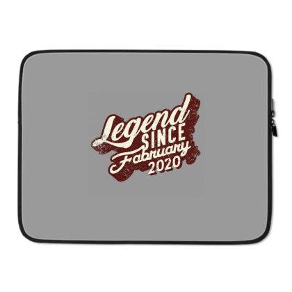 Legend Since February 2020 Laptop Sleeve Designed By Akin