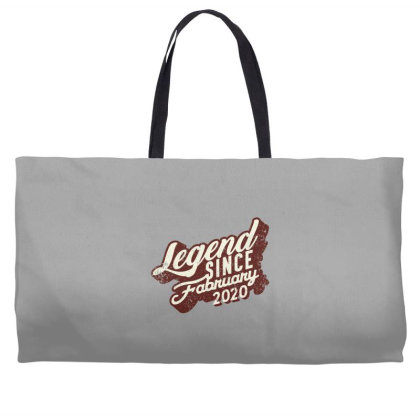 Legend Since February 2020 Weekender Totes Designed By Akin
