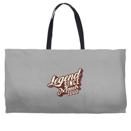 Legend Since March 2020 Weekender Totes Designed By Akin