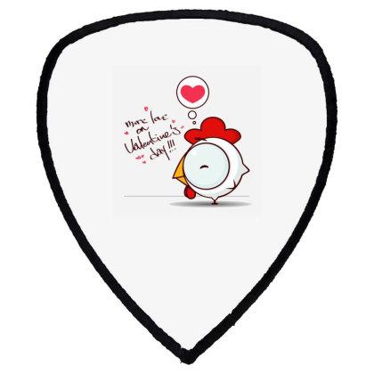 Valentine's Day Shield S Patch Designed By Coşkun