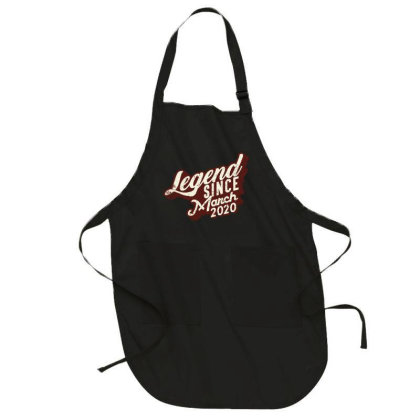 Legend Since March 2020 Full-length Apron Designed By Akin