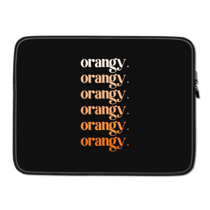 Orangy Laptop Sleeve Designed By Akin
