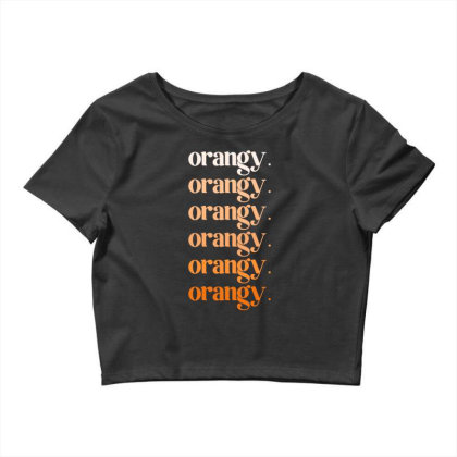 Orangy Crop Top Designed By Akin