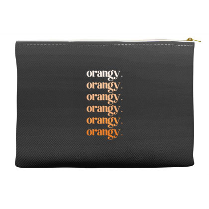 Orangy Accessory Pouches Designed By Akin