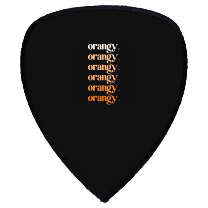 Orangy Shield S Patch Designed By Akin