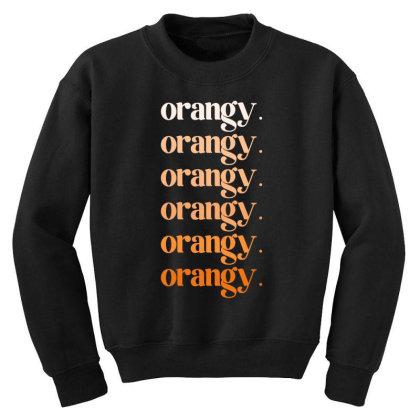 Orangy Youth Sweatshirt Designed By Akin