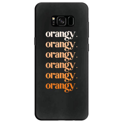 Orangy Samsung Galaxy S8 Case Designed By Akin