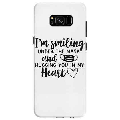I'm Smiling Under The Mask And Hugging You In My Heart 2 Samsung Galaxy S8 Case Designed By Koopshawneen