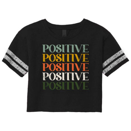 Positive Scorecard Crop Tee Designed By Akin