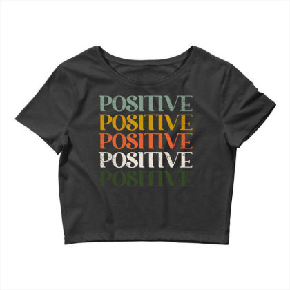 Positive Crop Top Designed By Akin