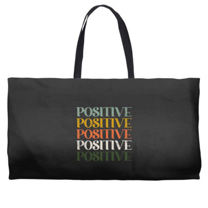 Positive Weekender Totes Designed By Akin