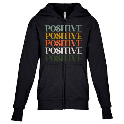 Positive Youth Zipper Hoodie Designed By Akin