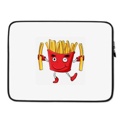 Fried Potatoes, Fast Food Laptop Sleeve Designed By Coşkun
