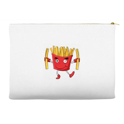 Fried Potatoes, Fast Food Accessory Pouches Designed By Coşkun