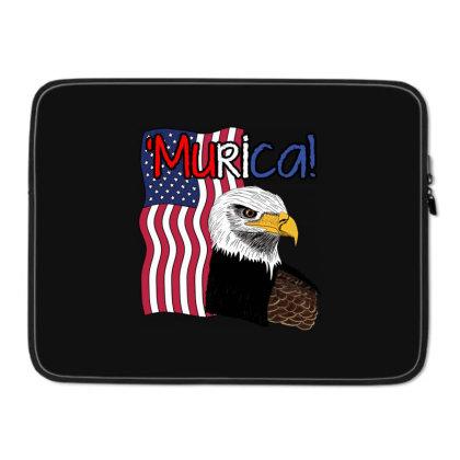 July 4th Independence Patriot Memorial Laptop Sleeve Designed By Koopshawneen
