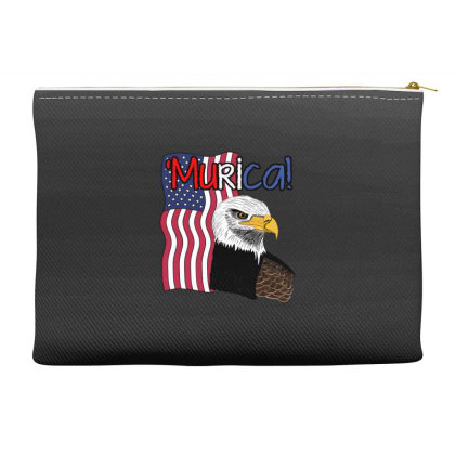 July 4th Independence Patriot Memorial Accessory Pouches Designed By Koopshawneen