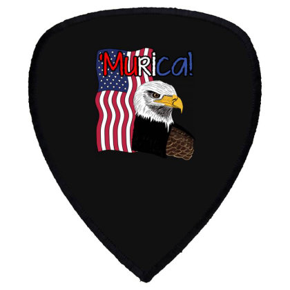 July 4th Independence Patriot Memorial Shield S Patch Designed By Koopshawneen