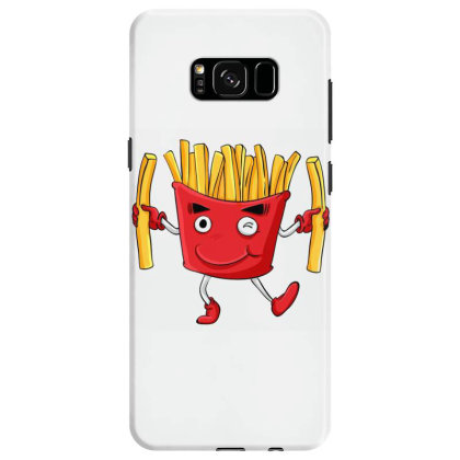 Fried Potatoes, Fast Food Samsung Galaxy S8 Case Designed By Coşkun