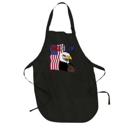 July 4th Independence Patriot Memorial Full-length Apron Designed By Koopshawneen